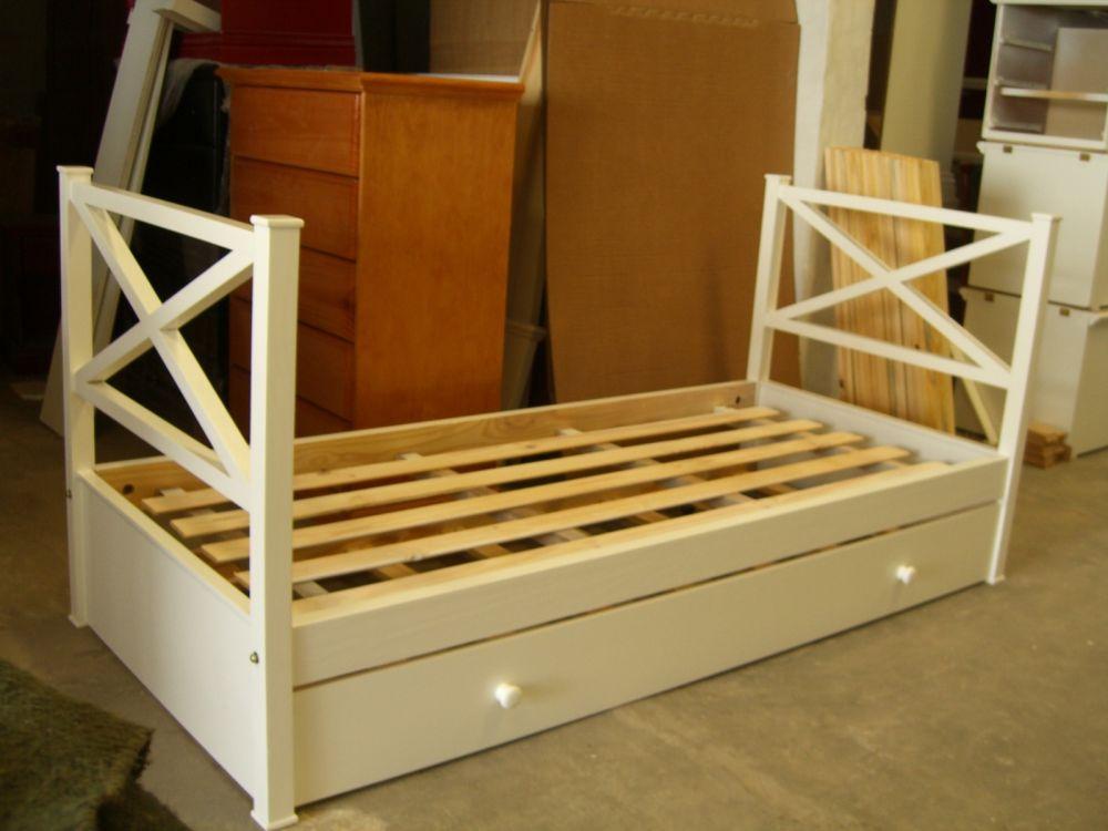 Muebles infantiles divan cama modelo camila laqueada con carro laqueada - Camas divanes juveniles ...