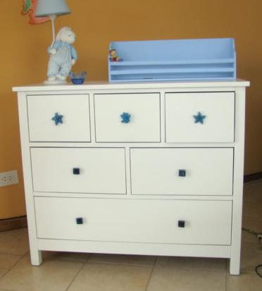 Muebles infantiles comoda juvenil modelo pottery laqueada - Comodas juveniles ...