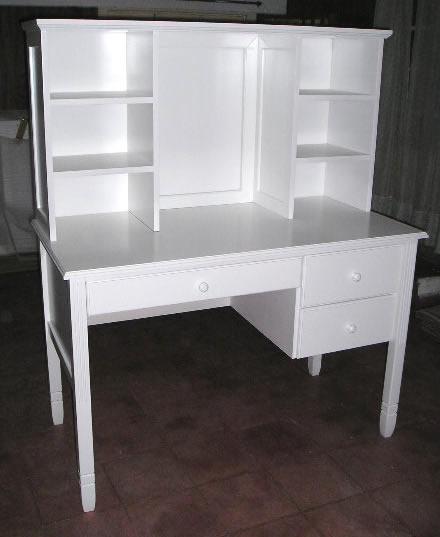 Muebles infantiles escritorio con alzada modelo pottery - Muebles de escritorio juveniles ...