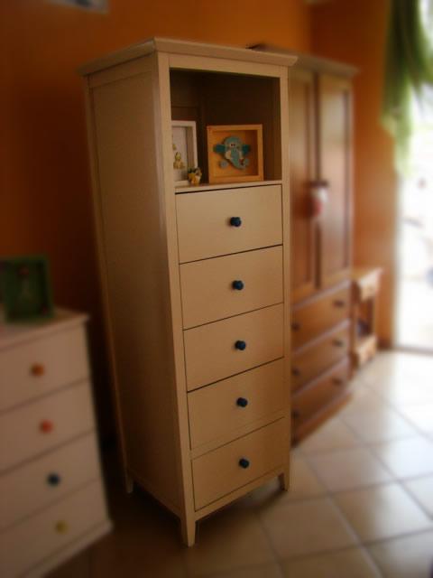 Muebles infantiles chifonier infanto juvenil estante y 5 for Cajones para muebles