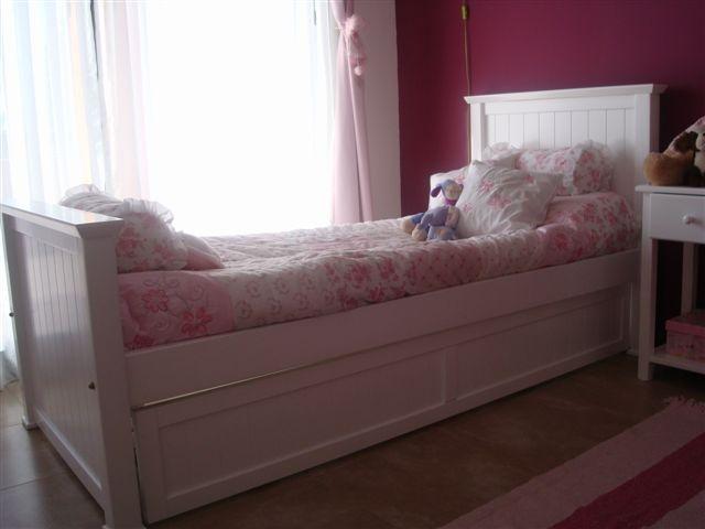 Muebles infantiles cama 1 plaza modelo americana for Futon cama de una plaza