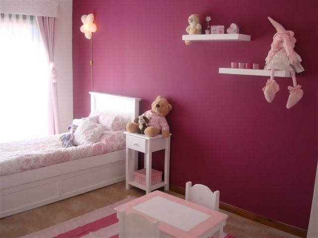Muebles infantiles estante flotante laqueado for Muebles america recamaras