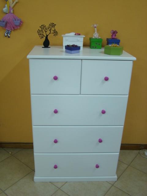 Muebles infantiles comoda modelo nehuen - Comodas juveniles ...