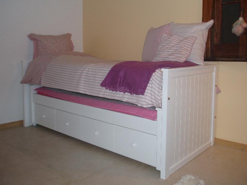 Muebles Infantiles-Camas Nido Con Cajonera ( Opcional carro-cama ...
