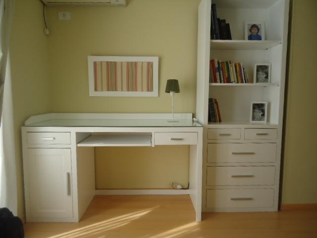 Muebles infantiles escritorio asia laqueado for Muebles de escritorio juveniles