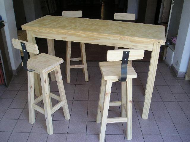 Mesa desayunadora con taburetes - Mesa cocina con taburetes ...