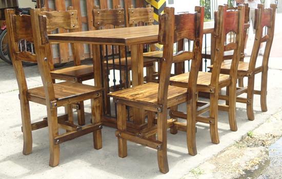 Mesa de comedor estilo oriental base de hierro for Comedor oriental