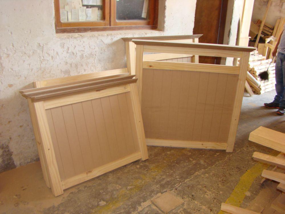 Muebles infantiles cama 1 plaza modelo nerea en crudo for Camas de 1 plaza baratas