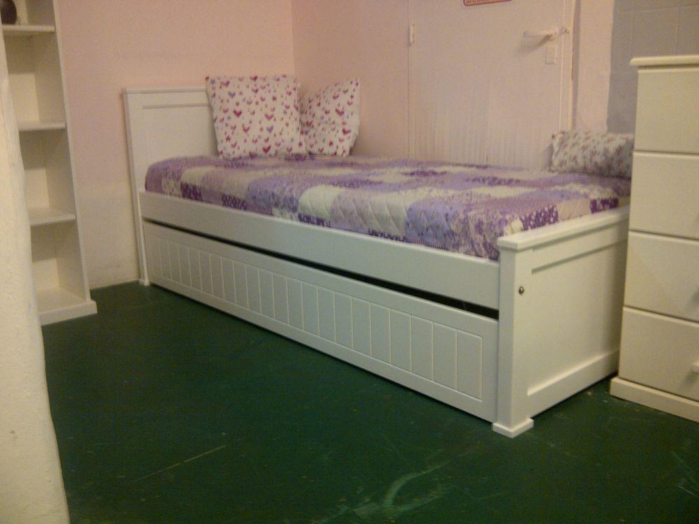 Muebles infantiles cama modelo americana for Camas infantiles juveniles