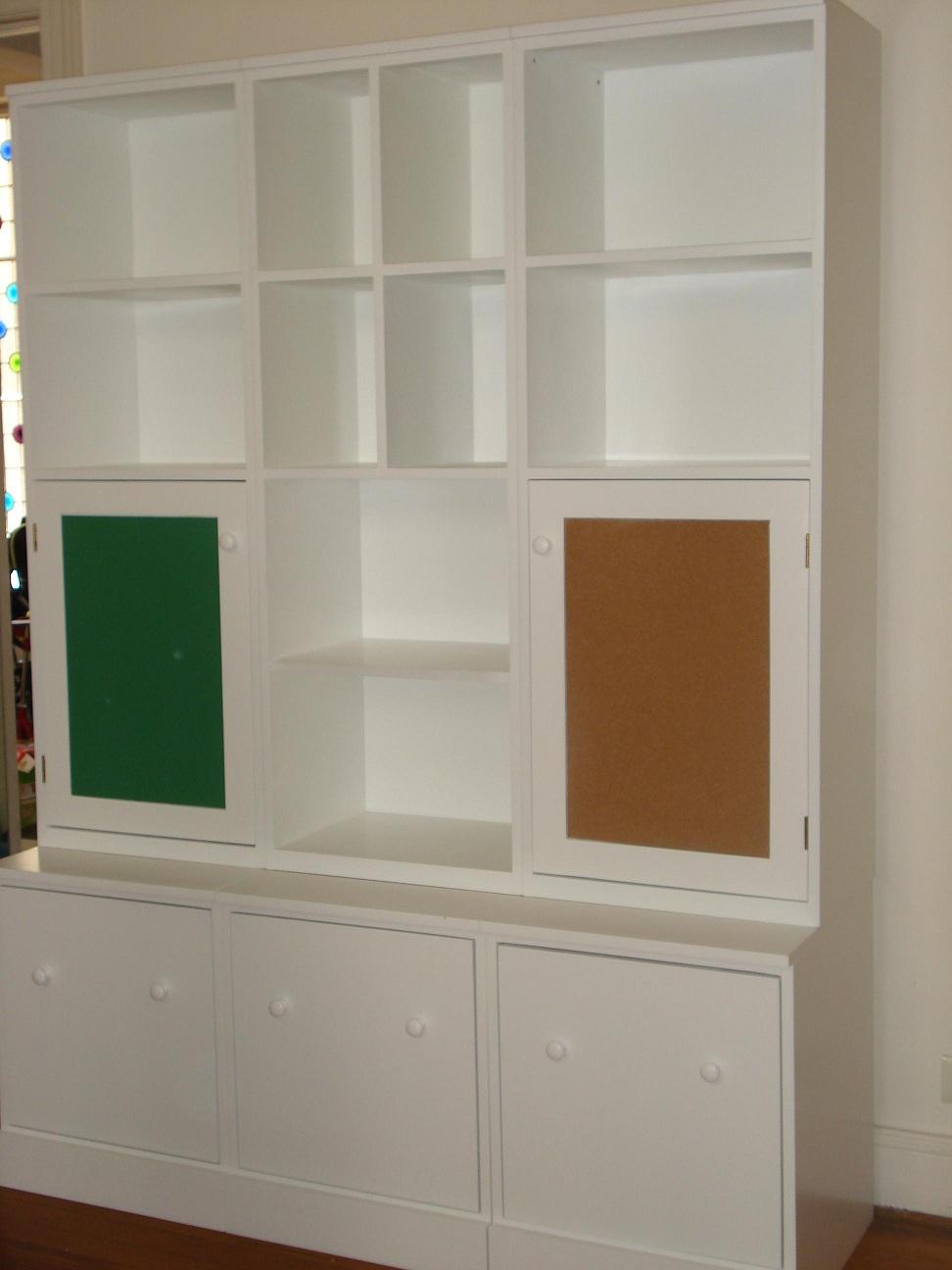 Infantiles Juveniles Bibliotecas Modulares # Muebles Laqueados