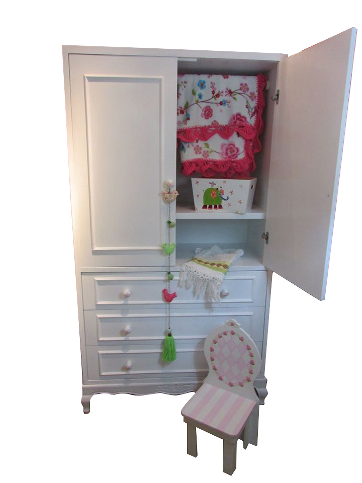 Muebles infantiles roperito modelo shabby chic clarisa - Muebles shabby chic online ...