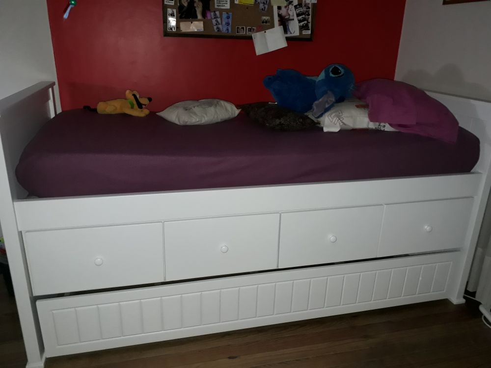 muebles infantiles cama juvenil guillermina con cajonera