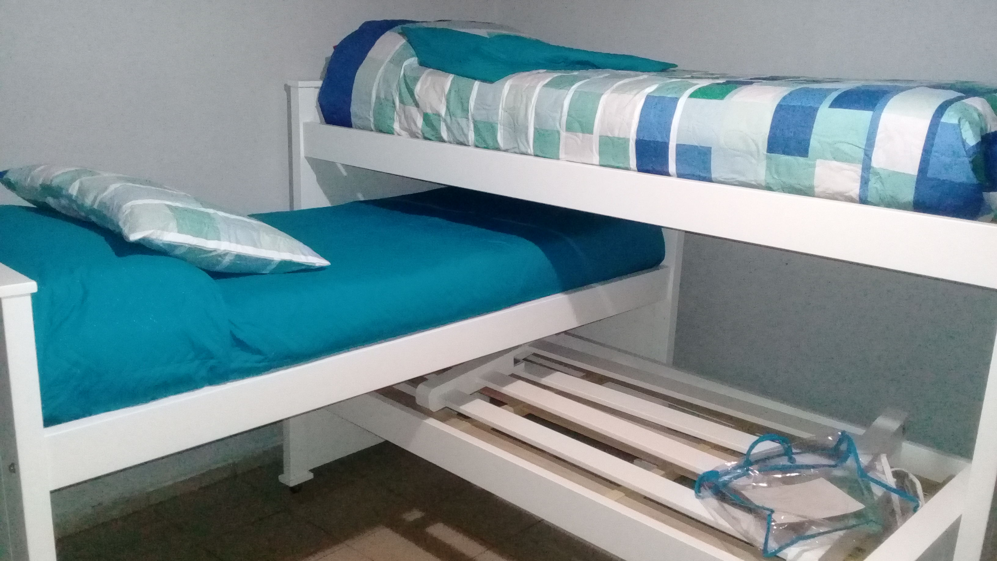 Muebles Infantiles - Camas Nido - 3 Camas Laqueadas