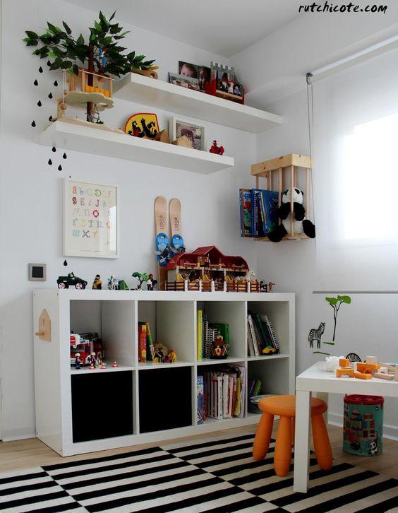 Mueble bajo organizador for Mueble organizador infantil